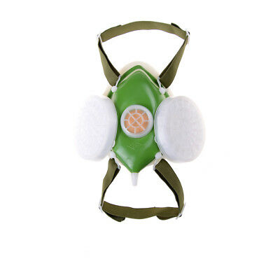 Anti-dust Respirator Gas Mask Filter Paint Goggle Set Chemical Safety Protect Gx