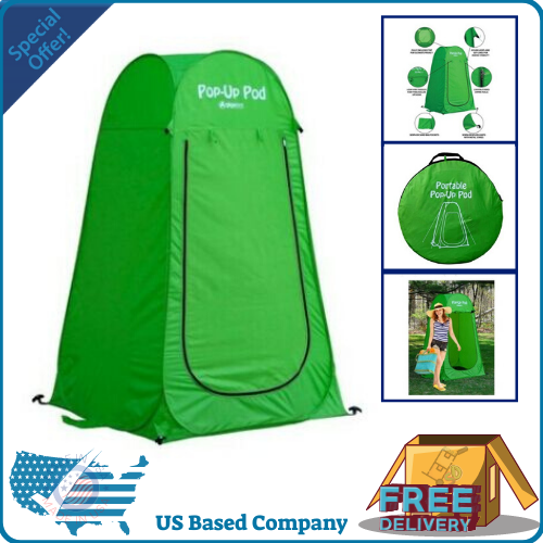 Changing Tent Pop Up Pod Green 3 ft. x 69 in. Dressing Room Privacy Camping
