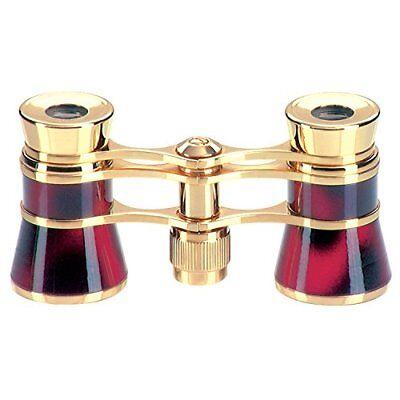 Eschenbach opera glasses Carmen ratio of 3 times 25 caliber red purple 4452