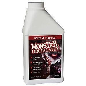 Monster Liquid Latex - 16oz Pint - Creates Monster / Zombie