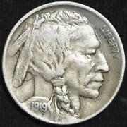 1919 P Buffalo Nickel