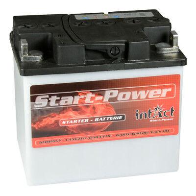 intact Rasentraktor Aufsitzmäher Rasenmäher Batterie 12V 30Ah 53034 Y60-N30-A