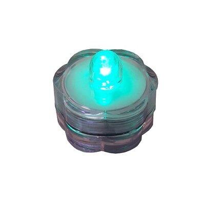 LED-Teelicht grün Wasserdicht Dekotop 39802 ()