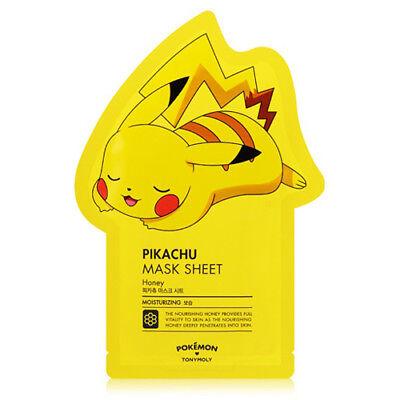 [TONYMOLY] Pokemon Pikachu Mask Sheet (Moisturizing) 21g*1pcs - Korea Cosmetics