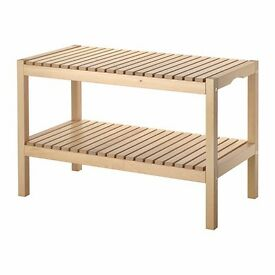 IKEA molger bench birch