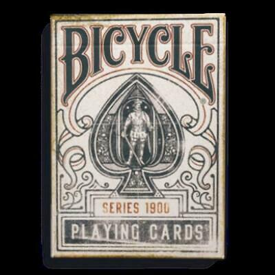 Playing Cards: Bicycle 1900 - Blue