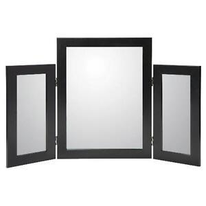 Dressing Table Mirror - Black, White, Walnut Effect, Beech Effect, Oak Effect
