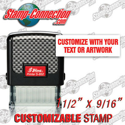 Shiny S-852 Self-inking 3 Line Customizable Stamp
