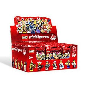 LEGO 8831 MINIFIGURE Series 7 COMPLETE SET of 16 figures (IN STOCK)