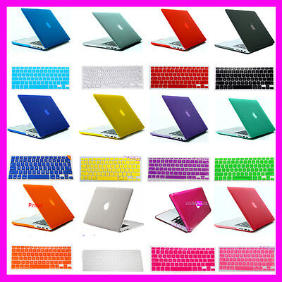 "For MacBook Pro 15"" 15.4""inch Retina Rubberized Crystal Hard Case keyboard cover on Rummage"