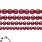 10mm Red Jade Beads