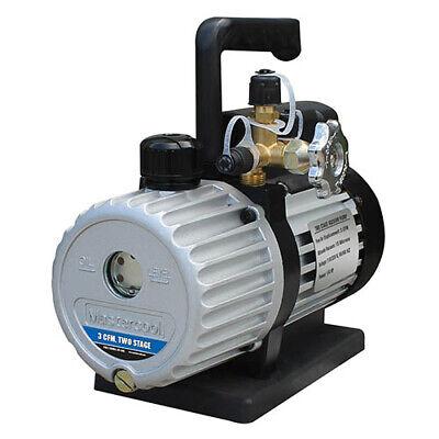 Mastercool 90063-2v-220b 3 Cfm Dual Voltage Vacuum Pump 220 V