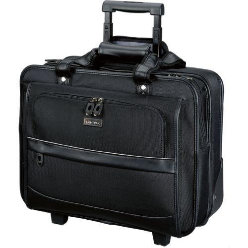 "LIGHTPAK Business Laptop Trolley LIDO 17"" Notebook Akten Nylon schwarz 92707"