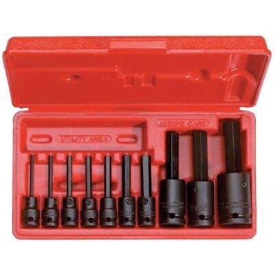 Stanley Proto J72156 38 12 Drive 10 Piece Hex Bit Impact Socket Set