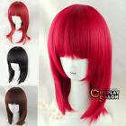 Red Wavy Wigs for Women