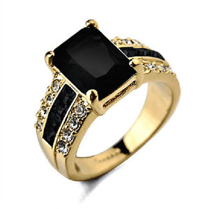 BEAUTIFUL LADIES RING SIZE 8-SOLID SILVER WITH GOLD PLATING $25.