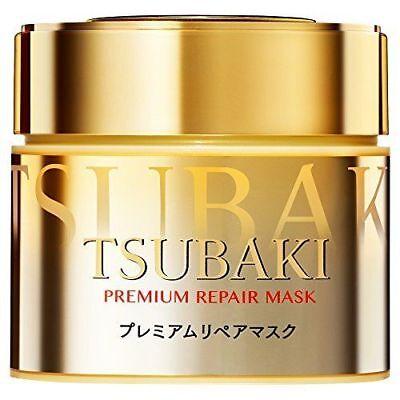 SHISEIDO TSUBAKI PREMIUM REPAIR HAIR MASK 180 G FROM JAPAN