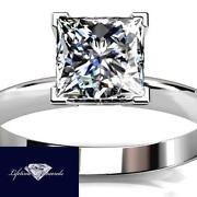 Certified Diamond Solitaire Ring