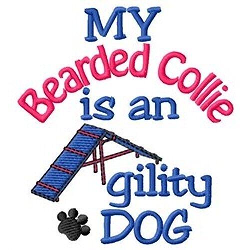 My Bearded Collie is An Agility Dog Sweatshirt - DC1732L Size S - XXL