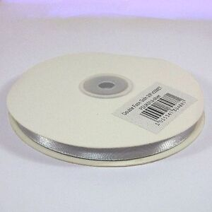 Double Satin Ribbon Full reel 25m or 50m LONG.  3mm, 10mm, 16mm, 25mm Width