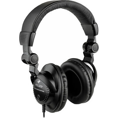 Polsen HPC-A30 Closed-Back Studio Monitor - Closed Back Studio Monitor Headphones
