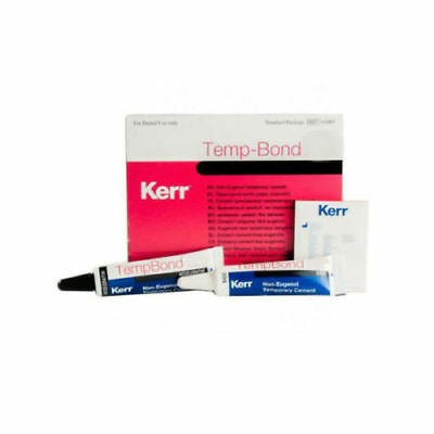 Temp-bond Temporary Dental Cement Plastic Tubes Kerr Regular Or Ne