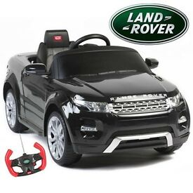 Range Rover sit An Ride Electric Kids Car With Remote genuine