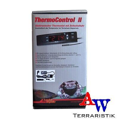 Lucky Reptile Thermo Control II - Thermostat mit Zeitschaltuhr f. Terrarien