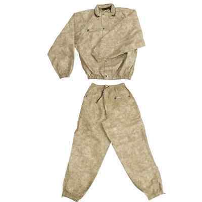 Frogg Toggs Classic Pro Action Rain Suit Rainwear Jacket and Pants Khaki X-LARGE