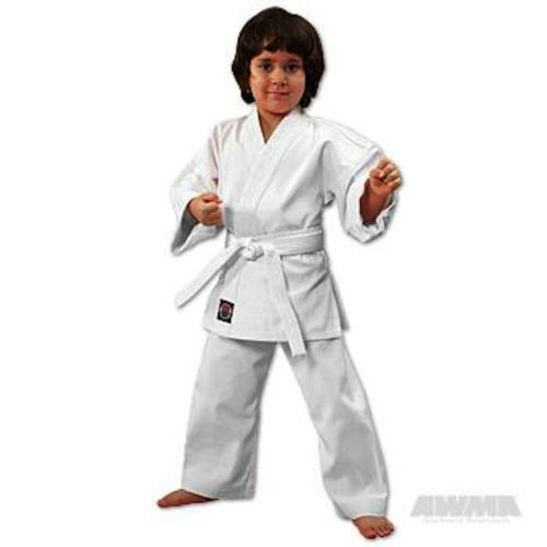 Twister Student Middleweight  Karate Uniform //GI with free White Belt 8.5oz