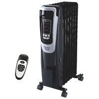 DIGITAL OIL HEATER RADIANT ECH3015 PORTABLE 1500W 5200BTU $59