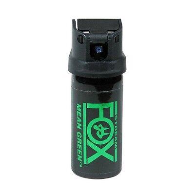 New Fox Labs International Mean Green H2OC Pepper Spray Stream 1.5oz #156MGS