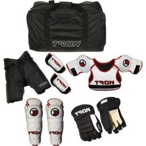 New Youth Hockey Protective Kit Starter Set Kids Equipment ...