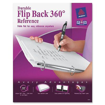 Avery Flip Back Reference View Binder - Letter - 8.50