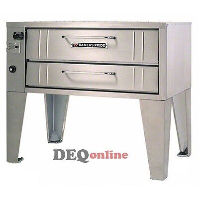 Bakers Pride 4151 Stubby Series Single Gas Oven