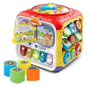 V-tech Sort & Discover Activity Cube for Sale