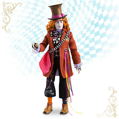 8d6782ebbe43a Disney Store Mad Hatter Film Collection Doll AliceThrough the Looking Glass  NRFB