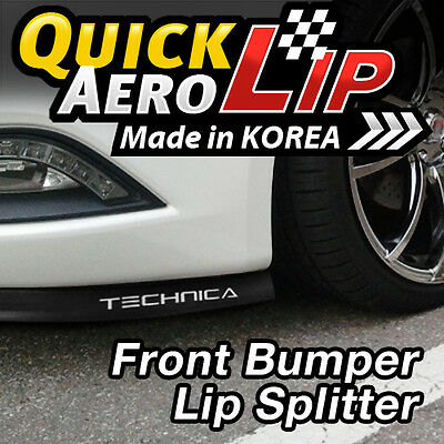 Front Center Lip /& Front Cup Wing Splitters for Hyundai Veloster Turbo 13-17
