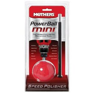 Mothers 05141 PowerBall Mini Metal Polishing Tool New
