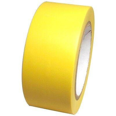 Yellow Vinyl Tape 2 Inch X 36 Yd. 1 Roll. Spvc