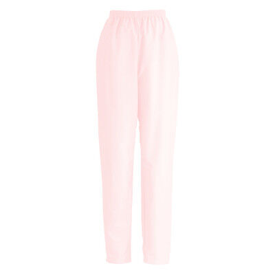 Two Pocket Scrub Pant (ComfortEase Two Pocket Elastic Scrub Pants MEDLINE 8850 PINK)