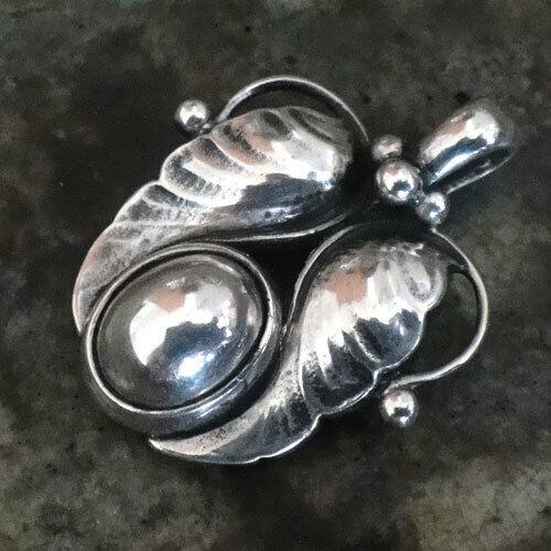 Georg Jensen Pendant 1994 Sterling Silver Denmark Jewelry #13671