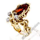 Mandarin Garnet Fine Rings Orange 7 Ring