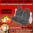 SEAT Sheepskin Car and Truck Seat Covers