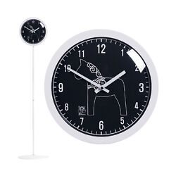 Modern Stand Floor Clock Home Decor Interior Separate Stand Clock - Unicorn(BK)
