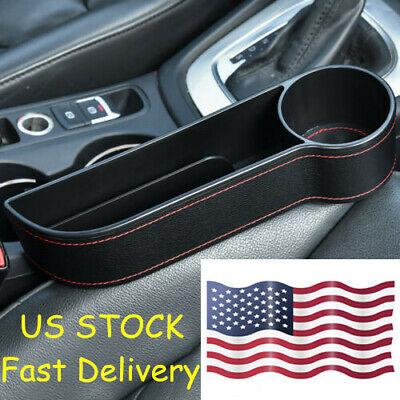 US!!! Car Seat Gap Catcher Organizer Storage Box Pocket Bottle Cup Holder Right