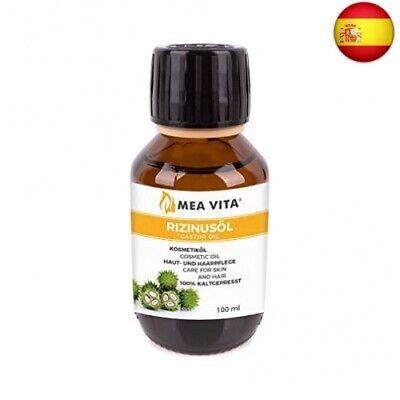 MeaVita - Aceite de ricino puro, natural, vegano, sin hexano, no OGM,...