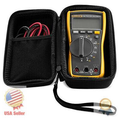 Hard Case Fluke 115 117 Digital Multimeter. By