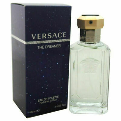 Dreamer by Versace EDT Cologne for Men 3.4 oz SPRAY *NEW SEALED BOX PERFUME
