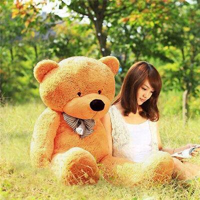 "39"" Large 100cm Teddy Bear Lovers Big Bear Stuffed Plush toys Girl Exellent Gift"